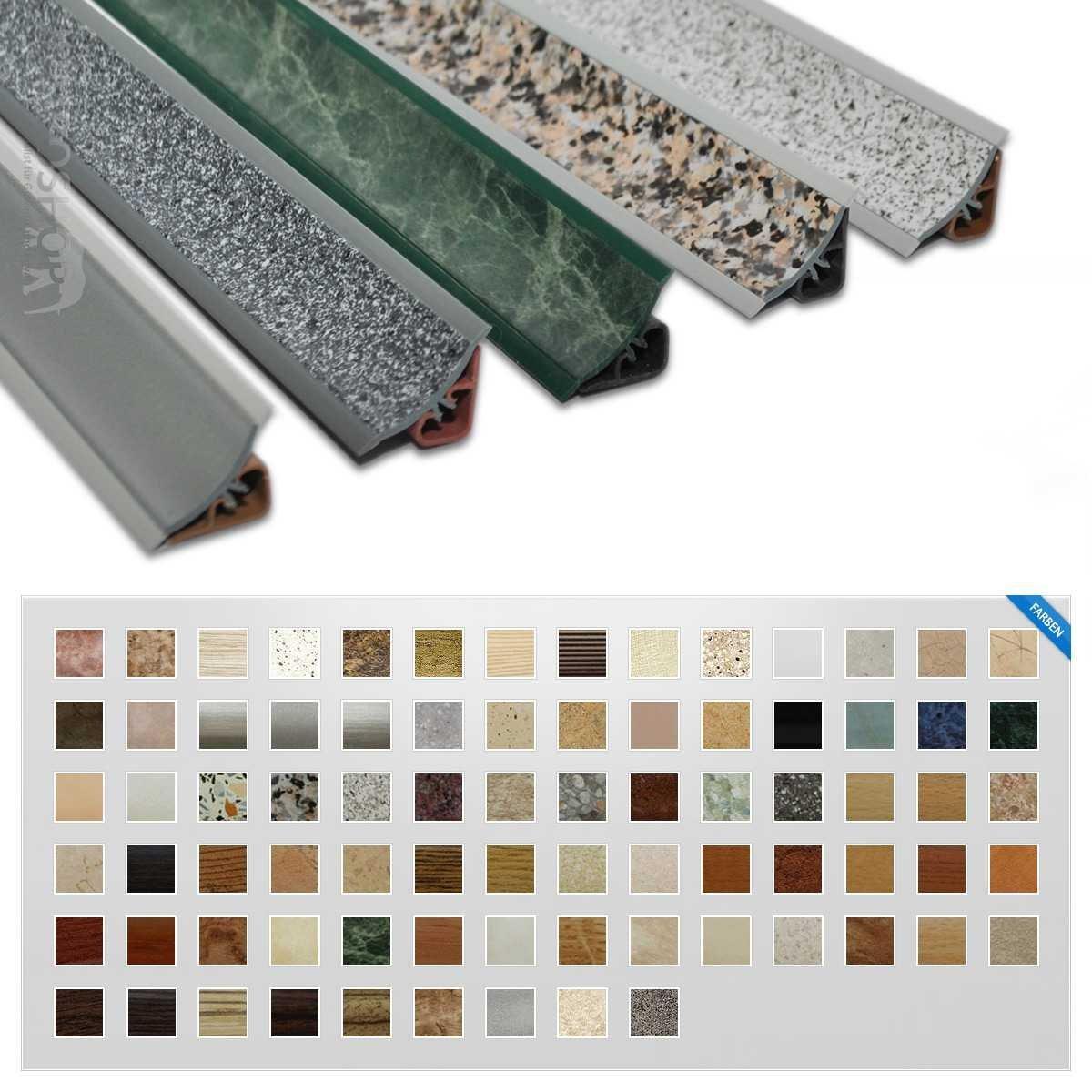abschlu leisten f r k chenarbeitsplatten. Black Bedroom Furniture Sets. Home Design Ideas